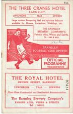 More details for 1950s barnsley home football programmes x3