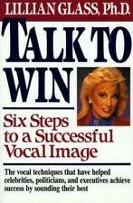 Talk to Win, Glass, Lillian J., Good Condition, Book