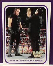 1991 Merlin WWF Wrestling The Undertaker Rookie #120 With Paul Bearer WWE RC