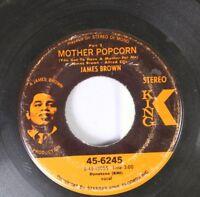 Soul 45 James Brown - Mother Popcorn Part 2 / Mother Popcorn Part 2 On Starday K