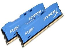 HyperX FURY Blue 16GB 2X8GB Dual Channel DDR3 1600MHz PC3-12800 DIMM Desktop