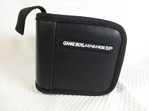 Nintendo Gameboy Advanced SP Cartridge Original Vintage Storage Case Black