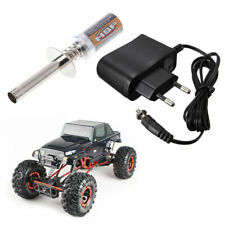 Glow Plug Igniter + Starter Charger For HSP Gas Nitro Engine 1/10 1/8 RC Cars