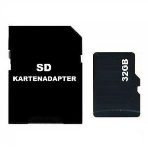 32GB MICRO SD SDHC SPEICHERKARTE INKL. SD KARTENADAPTER SPYCAM KAMERA MINI Z165