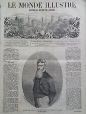 LE MONDE ILLUSTRE 1859 N 140  L'AFFAIRE DE HARPER'S FERRY - JOHN BROWN