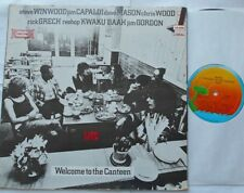 @TRAFFIC Welcome to the Canteen LIVE Ex MEXICO 1977 ISLAND LA-020 Gatefold LP