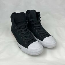 CONVERSE Black Chuck Taylor All Star - High Tops - Men's size 10