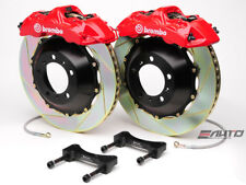 Brembo Front GT Brake 6Pot Caliper Red 355x32 Slot Rotor Benz W203 W209 R171