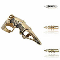Gothic Punk Mens Fashion Knuckle Full Finger Ring Armor Claw Jewelry Accessories