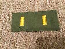 2nd Lt Lieutenant Rank Badge Vietnam Insignia Patch