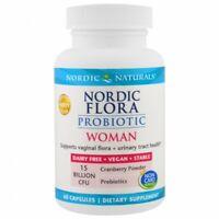 Nordic Naturals Probiotic Woman 15 Billion CFU w/ Prebiotic 60 Capsules A083