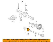 TOYOTA OEM 95-04 Tacoma Axle Differential-Rear-Oil Deflector Gasket 4244355020