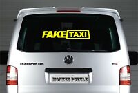 LARGE Fake Taxi Sticker vinyl decal Slammed Ride Euro JDM Drift Low Dub VW AUDI