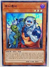 Yu Gi Oh Korean RC02-KR018 Uni-Zombie Super Rare Mint