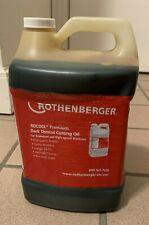 Rothenberger Rocool Premium Dark Thread Cutting Oil -1 Gallon