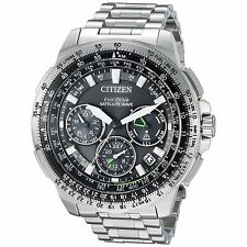 Citizen Eco-drive Promaster Navihawk GPS Stainless Steel Watch for Men - CC9030-51E