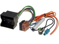Citroen Peugeot 2004 On Car Radio Stereo Aerial And Iso Wiring Harness Adaptor