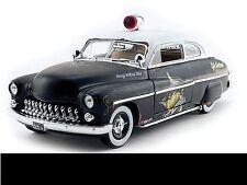 "1949 Mercury ""Rat Rod"" Police Car 1:18 Auto World 961"
