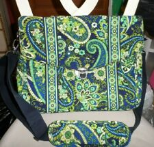Vera Bradley Attache brief case in Rhythm & Blues pattern