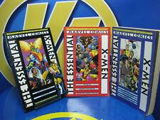 Lotto di comics THE ESSENTIAL X-MEN -3 volumi- vol. 1-2 e 3 comic ne ingles