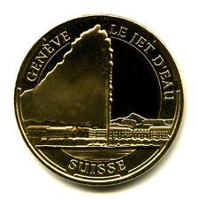 SUISSE Genève, Le jet d'eau, 2014, Monnaie de Paris