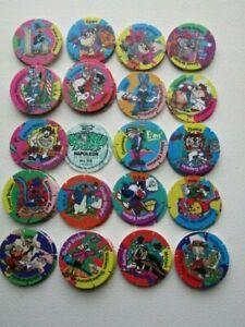 Walkers Looney Tunes 1996  World  Tour Tazos Tazo Variants (e28)