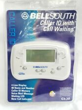 Bell South Caller Id Display C130 Open Package Complete Works Call Waiting New