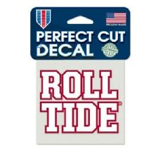 "Alabama Crimson Tide 4"" x 4"" Logo Truck Car Auto Window Die Cut Decal ROLL TIDE"
