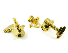 Genuine Grover 109G Super Rotomatic 3x3 tuners, Imperial Button, Gold