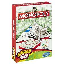 Hasbro juego Grab and Go Monopoly perfecto para viajando viajes