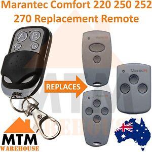 Marantec Comfort 220 250 252 270 Replacement Remote Control Transmitter Opener
