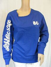 ★ Umstandsmode ★ S 36/38 ~ Sweatshirt ~ blau ~ toller Style ~ NEU
