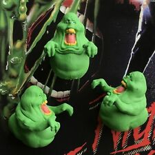 3pcs Bandai Ghostbusters Green Slimer Monster Figure Toy L