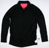 New Maternity Clothes Black Active Full Zipper Jacket NWT Liz Lange Size Small