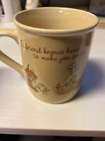 Vintage Baby Animals Coffee cup Cute 80's Hallmark Mug Mates 1983