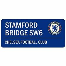 CHELSEA FC 'STAMFORD BRIDGE' STREET ROAD SIGN NEW 100% OFFICIAL - BLUE