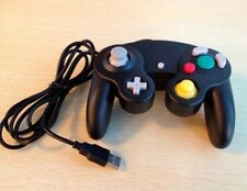 PC-USB GameCube style Controller for PC/MAC Mame Dolphin (black/purple)