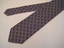 Berend DeWitt Italy 100% Silk Neck Tie - Gray/Pink/Ivory from Syd Jerome