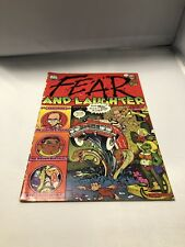 Fear And Laughter comic book - 1977 William Stout UNDERGROUND