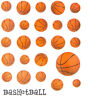 2 Sheets Basketball Sport Planner Stickers Papercraft DIY Crafts Envelope Seals