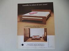 advertising Pubblicità 1981 ANGELO LUCATELLO - BIANCADE