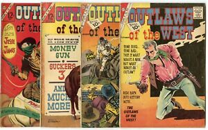 Outlaws of the West #33 - 87 (23 issue)  avg. FN+ 6.5  Charlton 1961  No Reserve