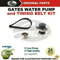 GATES WATER PUMP & TIMING BELT KIT for FIAT QUBO 1.4 Natural Power 2009->