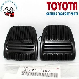 GENUINE TOYOTA 4RUNNER T100 CAMRY TACOMA BRAKE & CLUTCH RUBBER FOOT PEDAL PADS