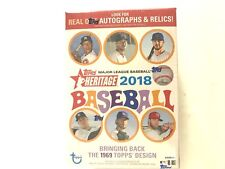2018 TOPPS HERITAGE BASEBALL BLASTER BOX(READY TO SHIP LIVE)!!!