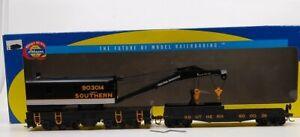 Athearn 7527 HO Southern RTR 200-Ton Crane with Tender LN/Box