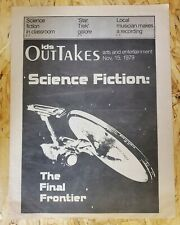 Ids Out Takes Science Fiction Star Trek The Final Frontier 1979 Scrapbook Rare