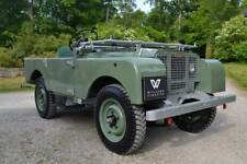 Land Rover Series 1 80, 86, 88, 107 & 109  Square Number Plate Backing