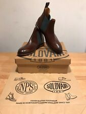 NPS SOLOVAIR Stanley Brown Walnut Chelsea Brogues Boots!SizeUK8!New!Only£189.90!