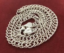 """Vintage Sterling Silver Necklace 925 16"""" Italy Chain"""